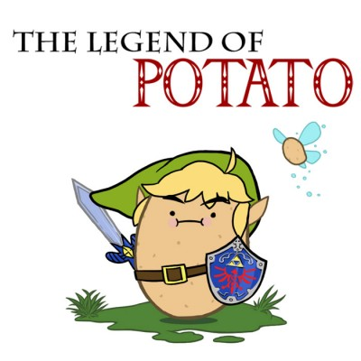 Legend of Potato Shirts